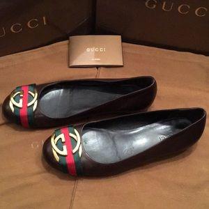 Gucci Shoes - Gucci Guam Coco Ballet Slippers